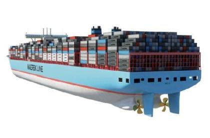 Manoeuvre des porte conteneurs et evp for Container en francais